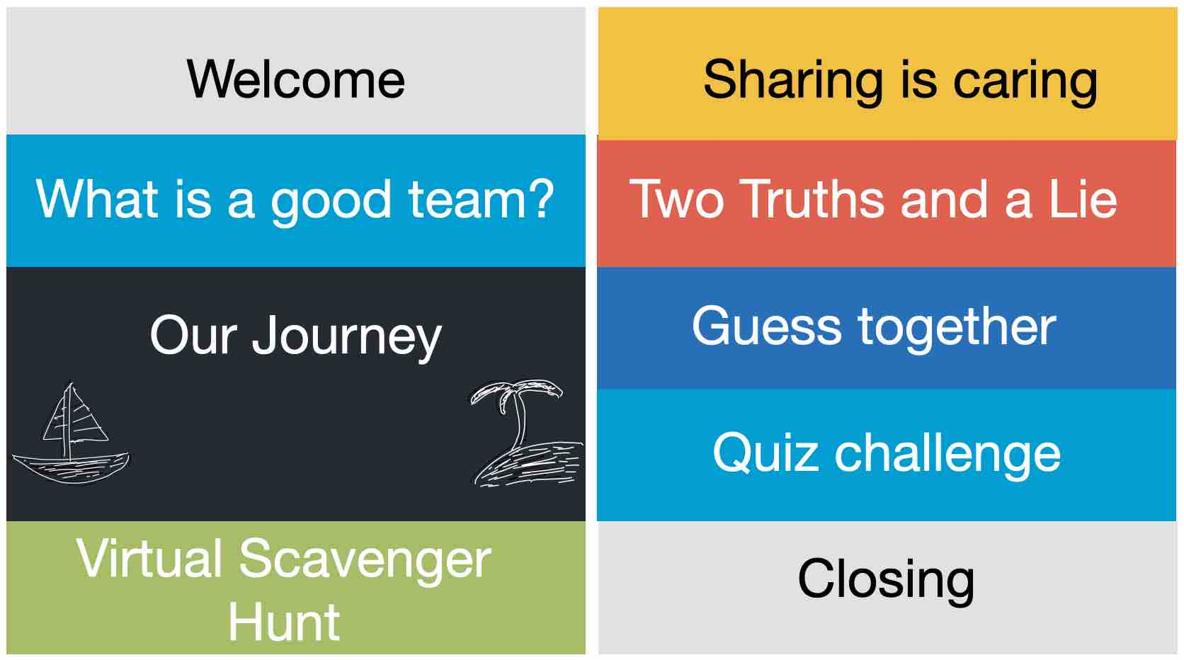 Virtual Teambuilding TEAMGYZER