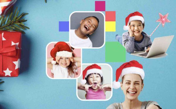 Virtuelle Weihnachtsfeier